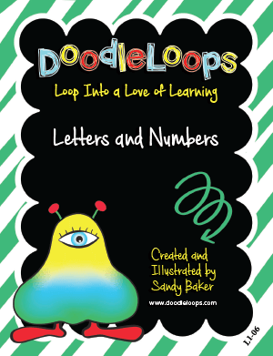 DoodleLoops Letters and Numbers L106